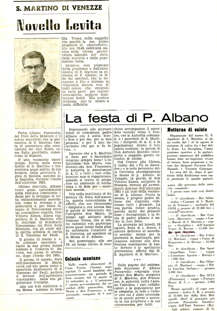 PADRE ALBANO474